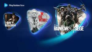 May PS Now, The Evil Within 2, Rainbow Six Siege, Get Even