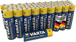 Varta Industrial Pro AA batteries 40 pack - £11 prime / £15.49 non-prime @ Amazon