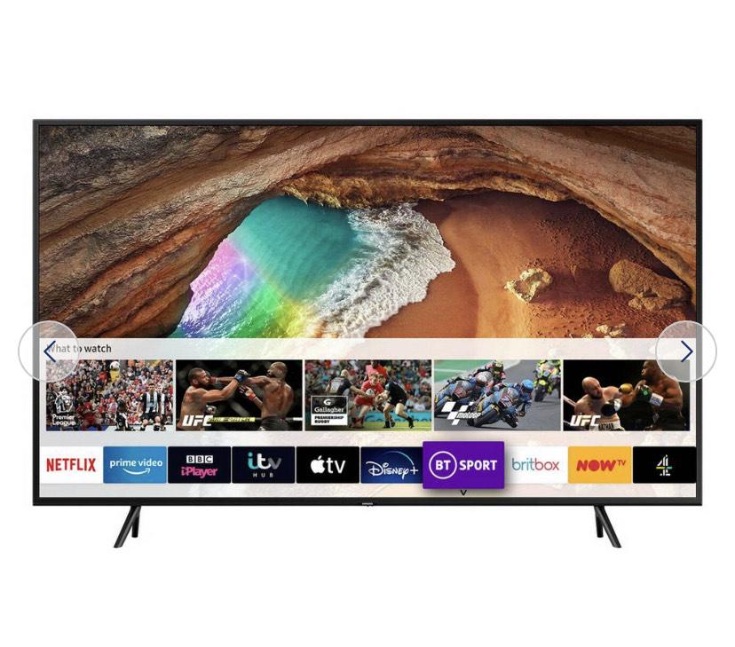 Samsung 49 Inch Q60 QE49Q60RATXXU Smart 4K HDR QLED TV £552.95 delivered at Argos