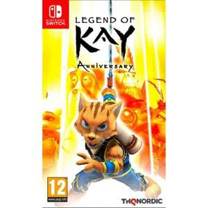 Legend of Kay: Anniversary Nintendo Switch £8.95 delivered at The Game Collection