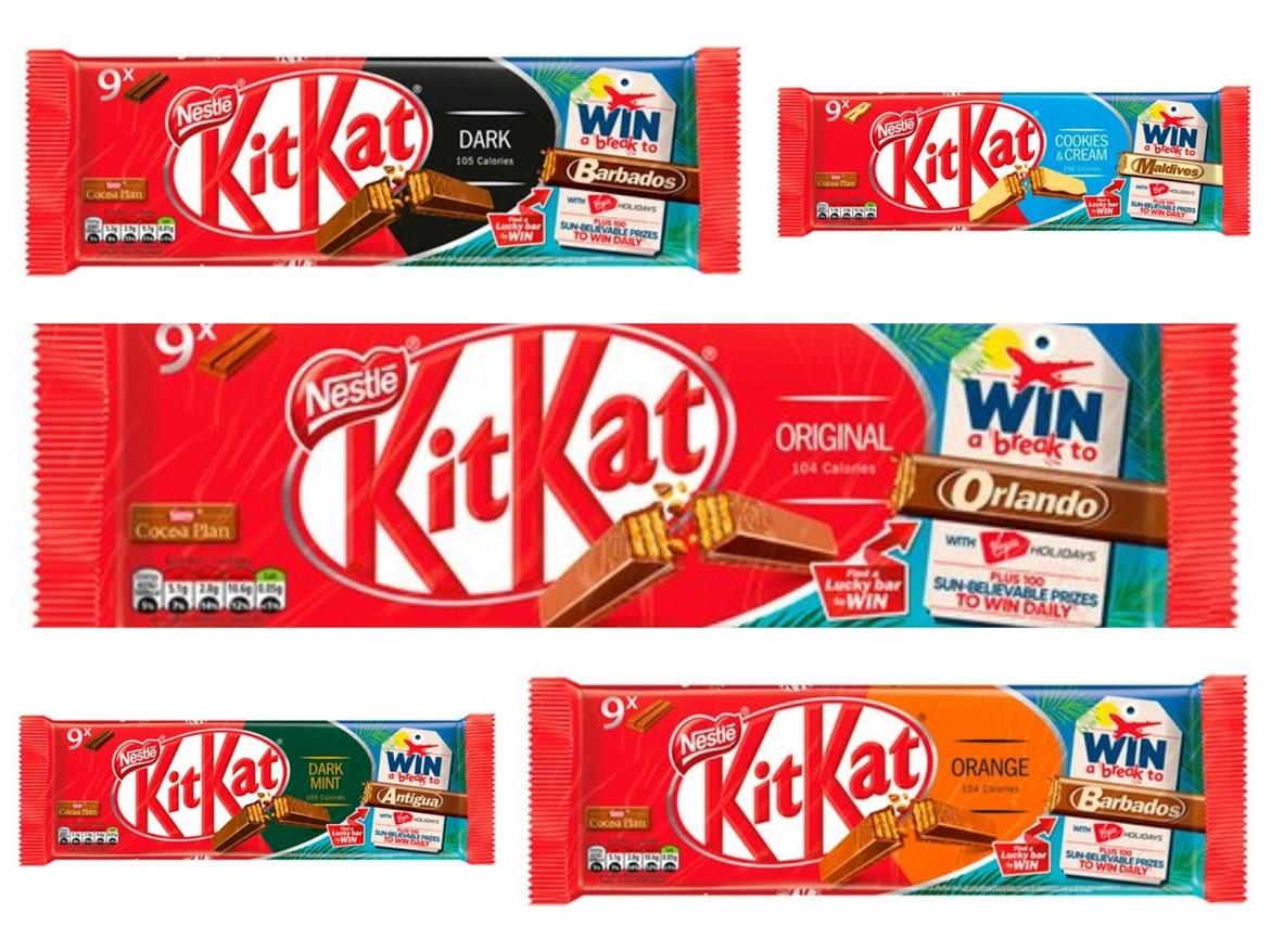 Kit Kat 2 Finger - 9 pack (All Varieties) - £1 @ Tesco