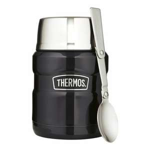 Half price Thermos King Stainless Food Flask Navy 470ml - £10 / Thermos King Travel Mug - £9 @ Tesco (Min basket £40 + up to £4 delivery)