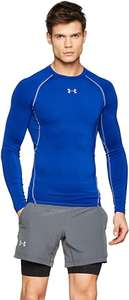 Under Armour Men's HeatGear Compression Shirt Long Sleeve Breathable Blue Size Large only - £12 (+£4.49 non Prime) @ Amazon
