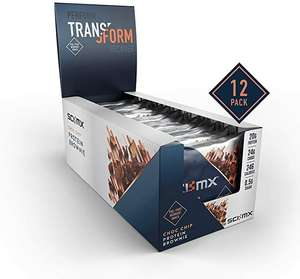SCI-MX Nutrition High Protein Brownie Box, Chocolate, Pack of 12 x 65g £11.94 Prime / +£4.49 non Prime @ Amazon