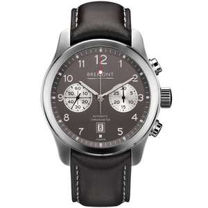 BremontALT1-C CLASSIC Anthracite Dial Strap Watch ALT1-C/AN £3595 at TH Baker