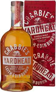 Crabbies Yardhead Single Malt Scotch Whisky 70cl £16 (Prime) £20.49 (Non Prime) @ Amazon