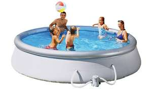 Bestway Quick Up 12ft round family pool with water pump and cover included for £103.49 delivered @ Argos