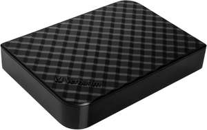 3TB Verbatim Store 'n' Save 47684, Portable External HDD, USB 3.0, w/ Nero Backup Software, 8MB Cache, Black £63.27 Delivered @ Scan