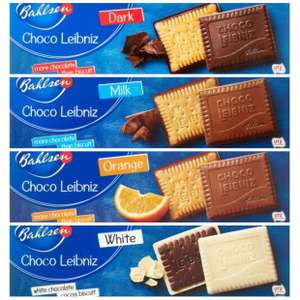 Bahlsen Leibniz Biscuits 125g (Dark Chocolate / White Choco / Milk / Chocolate Orange) for £1 @ Tesco (Min basket £40 + up to £7 delivery)