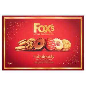 Fox's Biscuit Selection 550g for 99p @ Farmfoods (Southampton)