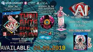 Ai: The Somnium Files Special Agent Edition (PS4) - £42.79 @ Base