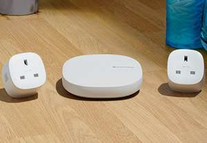 Smartthings hub and two smart plugs bundle only £79 delivered @ Samsung