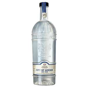 City of London dry gin £33.89 per bottle or 3 for £45 (others in OP)+ £7.95 Delivery @ Drink Supermarket