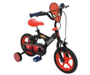 """Spider-Man 12"""" first bike with stabilisers for £74.99 delivered (using code) @ Bargain Max"""