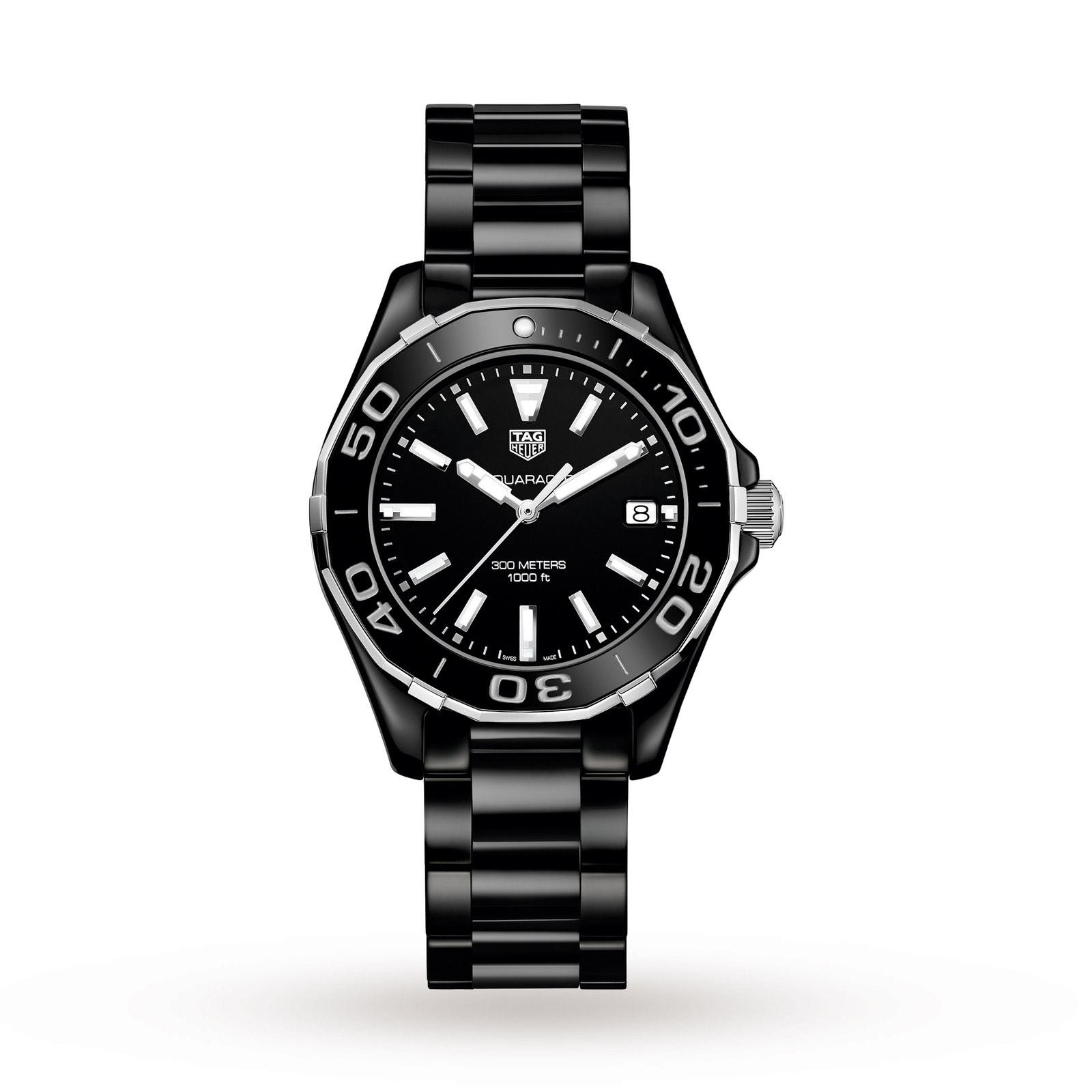 Tag Heuer AquaRacer 35mm Ceramic WAY1390.BH0716 Watch - £1050 @ Burrells