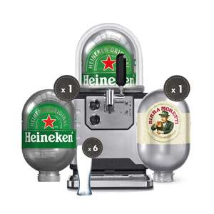 'Blade' Beer machine by Heineken, various bundles & keg refill offers - from £426 delivered @ Blade