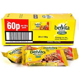 20 X Belvita Breakfast Soft Bakes Choc Chips 50g Bars - £6 @ Yankee Bundles