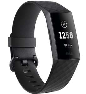 Fitbit Charge 3 Advanced Fitness Tracker with Heart Rate, Swim Tracking & 7 Day Battery - £89.99 @ Amazon