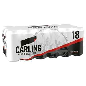 Carling 18 pack 440ml £10 instore @ Morrisons Doxford park sunderand