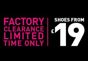 Hotter Shoes Factory Clearance From £19 @ Hotter Shoes