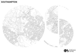 Free download and print colouring maps from Ordnance Survey