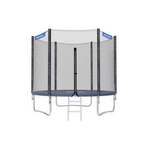 Songmics Trampoline 8 ft Complete set With Safety Enclosure Net Ladder, pad Bounce Mat £151.42 with code (Other Sizes Available) @ SONGMICS