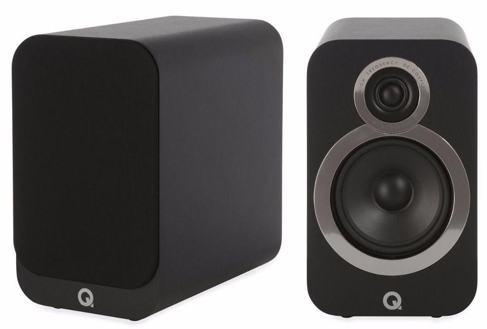 Q Acoustics Q3020i (Black/ Graphite/ Walnut) Speakers £168 + 6 Year Guarantee @ Richer Sounds