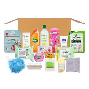 Home Bargains Bath Time & Pampering Box (Delivery Included) £19.99