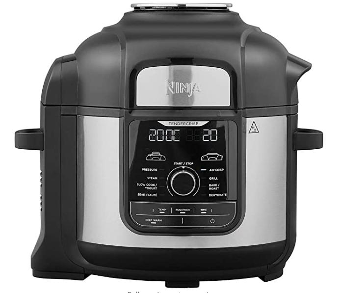 Ninja Foodi Max Multi-Cooker [OP500UK] Electric Pressure Cooker and Air Fryer £179.99 on Amazon