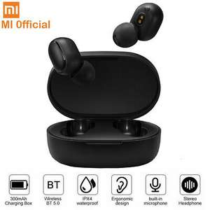 Xiaomi Redmi Airdots TWS Earbuds Wireless Earphones BT 5.0 Sweatproof Headphones - £19.99 Delivered @ MyMemory/ eBay