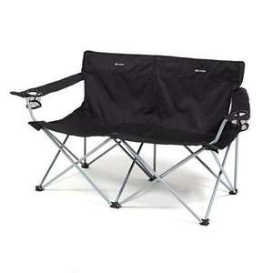 New Eurohike Peak Folding Twin Chair Camping Furniture - £15.91 Delivered @ millets-outdoor /eBay