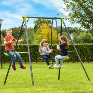 2 Unit Swing and Seesaw Set £59.99 plus Free Delivery From Smyths