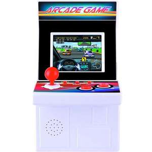 Taikee 220-in-1 16 Bit Portable Arcade Games Console - White - £9.99 with free delivery and return @ mymemory