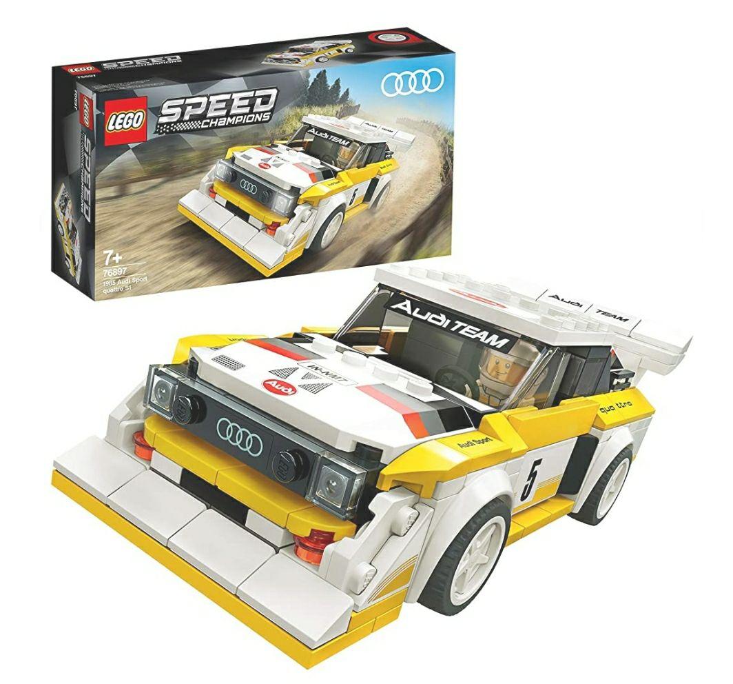 LEGO 76897 Speed Champions Audi Sport quattro S1. £14.40 prime / £18.89 non prime @ Amazon