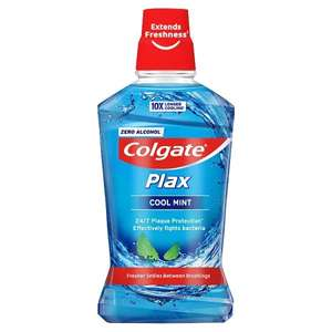 Colgate Plax Cool Mint Antibacterial Mouthwash 500 ml £1.75 at Amazon Pantry (£15 min buy)/+£4.49 non prime