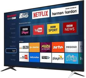 "Sharp LC-60UI9362K 60"" Ultra HD 4K Smart TV £449 Delivered using code @ Box"