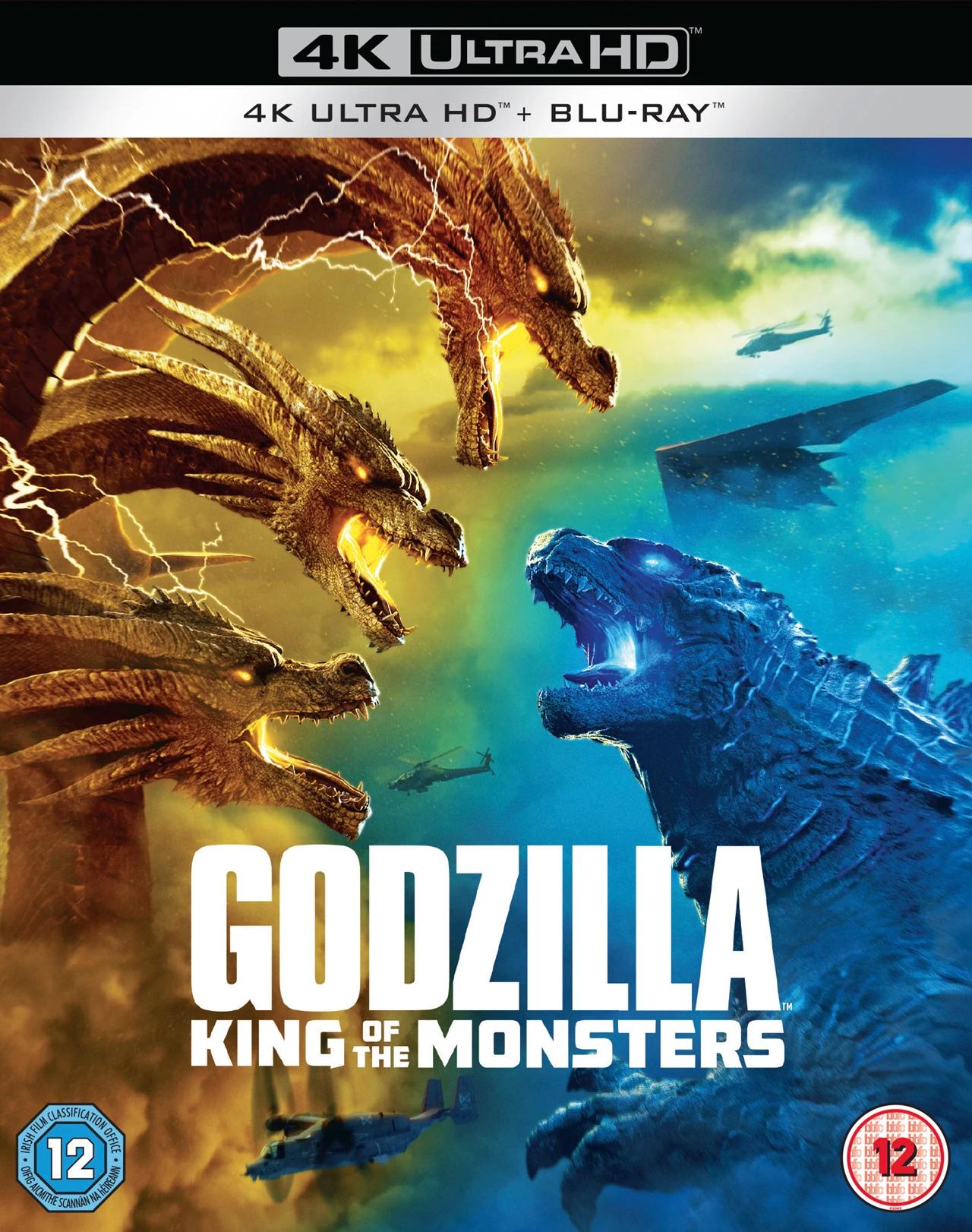 Godzilla king of monsters 4k - £13.99 (Prime) / £16.98 (non Prime) at Amazon; HMV has stock