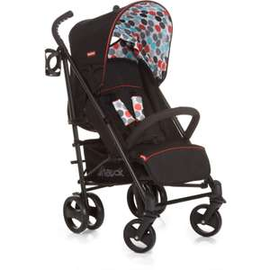 Hauck Fisher Price Easy Traveller Venice Pushchair - Gumball Black £69.75 + Free delivery @ preciouslittleone