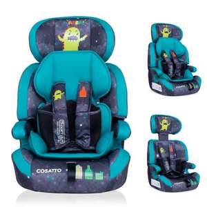 Cosatto Zoomi Group 123 Car Seat - Monster Arcade £58.95 Delivered @ online4baby