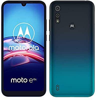 Motorola E6s Peacock Blue Dual Sim Phone 2gb ram/32gb rom £99.99 @ Amazon