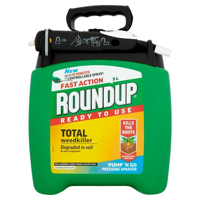 Roundup Pump & Go Weedkiller 5litre £22.50 at Sainsbury's