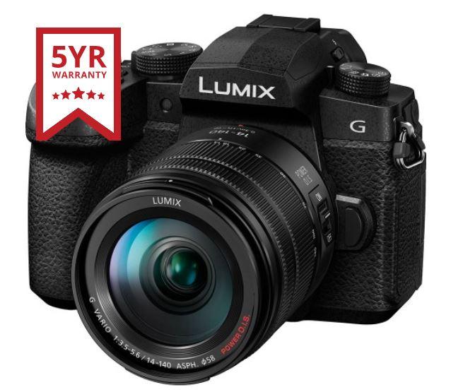 Panasonic Lumix G90 + 14-140mm Lens (DC-G90HEB-K) MPN: DC-G90HEB-K with 5 years warranty £899 @ UK Digital