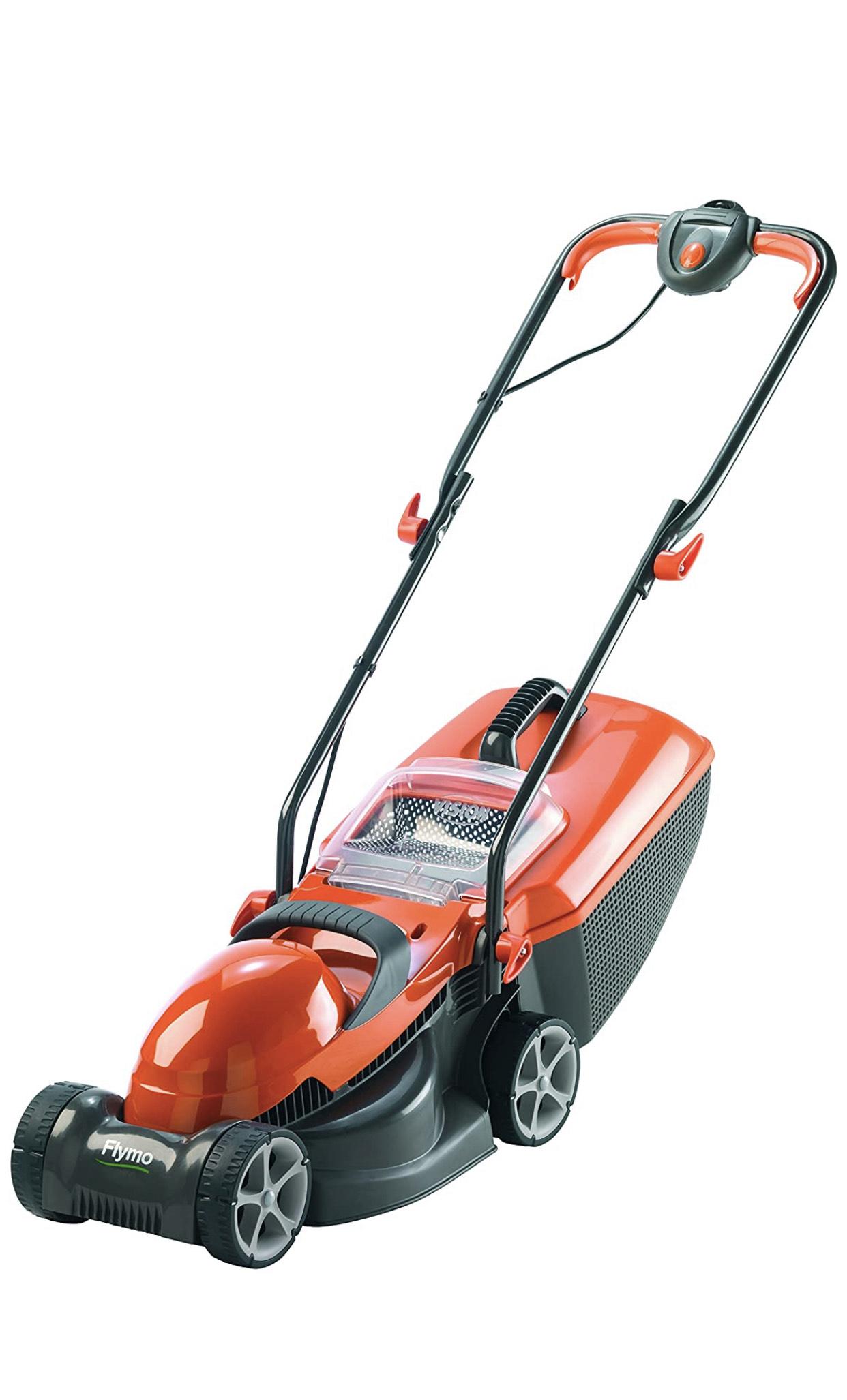 Flymo Chevron 32V Electric Wheeled Lawn Mower, 1200 W, Cutting Width 32 cm £65 at Amazon