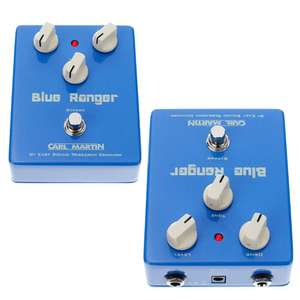 Carl Martin Blue Ranger Overdrive Guitar Pedal - £35 + £8 Delivery - £43 Total @ Thomann