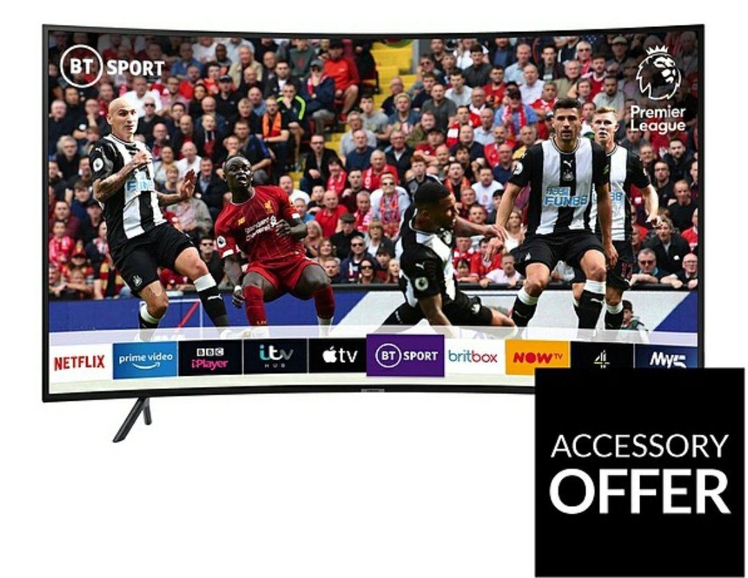 SAMSUNG UE49RU7300KXXU49 Inch, Curved Ultra HD, 4K HDR Smart TV - £379 @ Very