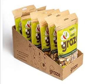 Graze Chilli and Lime Nutty Protein Power 118g Pack of 6 £9.99 - Sold by Graze Official and FBA (£7.74 via S&S / +£4.49 Non-prime)