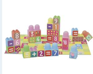 Peppa Pig: Learn the Numbers Blocks £2.99 @ Home Bargains (£3.49 Postage)