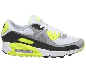 NIKE AIR MAX 90 White Particle Grey Black Volt Mens £79.99 + £3.50 delivery at Office Shoes