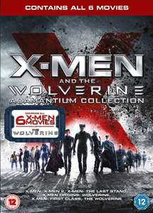 X-Men and the Wolverine Adamantium Dvd Collection - 6 Movies (used) £1.79 delivered with code @ Music Magpie