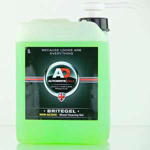 Autobrite Britegel 5L wheel cleaner £16.55 prime / £21.04 non prime @ Amazon